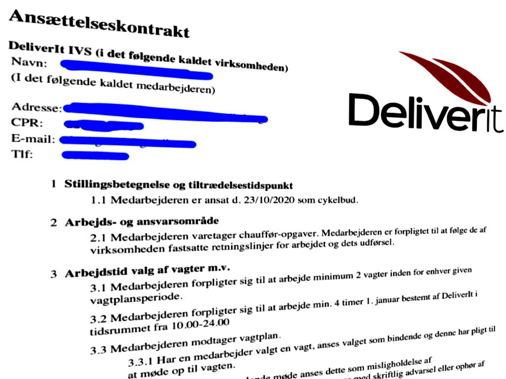Deliverit-kontrakt